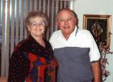 Aunt Clara (Hilda's sister) and uncle Morris (1980's)