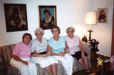 Left to right: Hilda and her sisters Lilly, Clara and Betty (1980's)