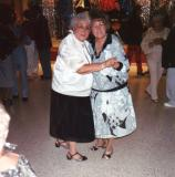 Hilda (Richard's mother) on the right dancing with Betty (Hilda's sister)- New Year's Eve, 1988