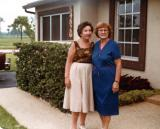 Hilda (Richard's mother) on right and her friend Mildred - mother of Richard's close friend Ken - in Florida. (1980's)