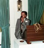 Paul (Richard's father) at his retirement dinner. (1978) Paul was a civil engineer. (2)