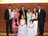Judy and Richard with Steve and Ted and their families