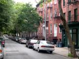 Cheever Place, Cobble Hill, Brooklyn: Ken & Pam's house is the second one on the right. (Ken & Pam - Richard's friends)