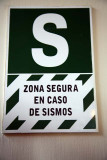 Safety Zone in Case of Earthquakes