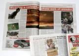 The Hansens featured in the Mildura Weekly newspaper