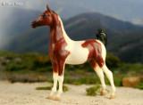 Breyer Saddlebred Weanling (Future Champion set 1992)