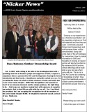 February  2009 Lewis County Chapter Newsletter