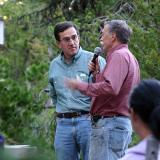 Dave Uberuaga (NPS) and Bob Shonka (BCHW)