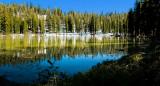 Lake Near Yosemite Creek