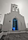 Picturesque church in Apollonia.