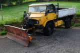 Rusting Merc Snow Plough