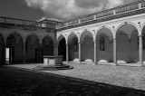 Montecassino Abbey in Black and White