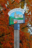The New Potterspury Village Sign