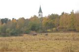 The new church in Surahammar
