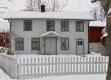 Grey house.