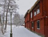 Along the river Svartån