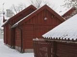 Old wood buildings