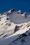 Mount Shasta - First Fall Snow - 2008 - Sergents Ridge
