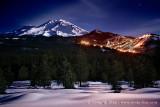 Moonlit Ski