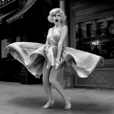 Marilyn Monroe - Classic Subway Grate Flying Skirt Shot