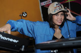 ***    Sweet  DJ  (a model) at a Dance Club    ***