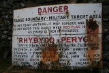 Trawsfynydd Artillery Range and Camp