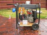 electric generator - quiet muffler