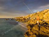 Fishing at Trigg Beach
