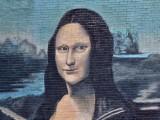 Mona Lisa Wall Painting