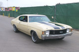 1972 Chevrolet Chevelle SS, cowl induction hood