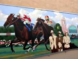 Murals along the infield Tunnel