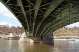 Under the Svatopluk Cech Bridge