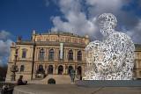 WE - Sculpture by Jaume Plensa Outside Rudolfinum 04