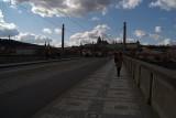 Across Manesuv Most to Prague Castle