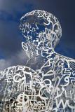 WE - Sculpture by Jaume Plensa Outside Rudolfinum 02