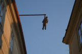 Man Hanging Out by David Cerny Prague 04