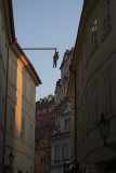 Man Hanging Out by David Cerny Prague 05