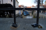 Padlocks on a Fence Prague 03