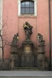 Outside a Church Prague
