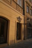 Streetlamp and Shadow Prague 04