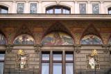 Building Detail - Painted Lion