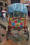 Colourful Cycle Rickshaw Kathmandu