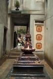 Bhuddist Shrine in Courtyard