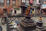 Bhuddist Shrine and Rubbish