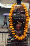 Buddhist Shrine with Garland 02