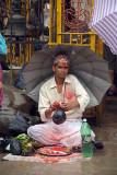 Brahmin Selling Thread Kathmandu
