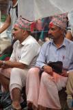 Brahmin Selling Thread Kathmandu 04
