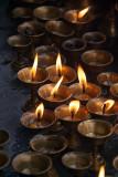 Butter Lamp Offerings Kathmandu
