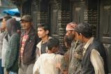 Porters Waiting for Work Kathmandu