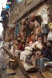 Shopkeepers Outside Shops Kathmandu